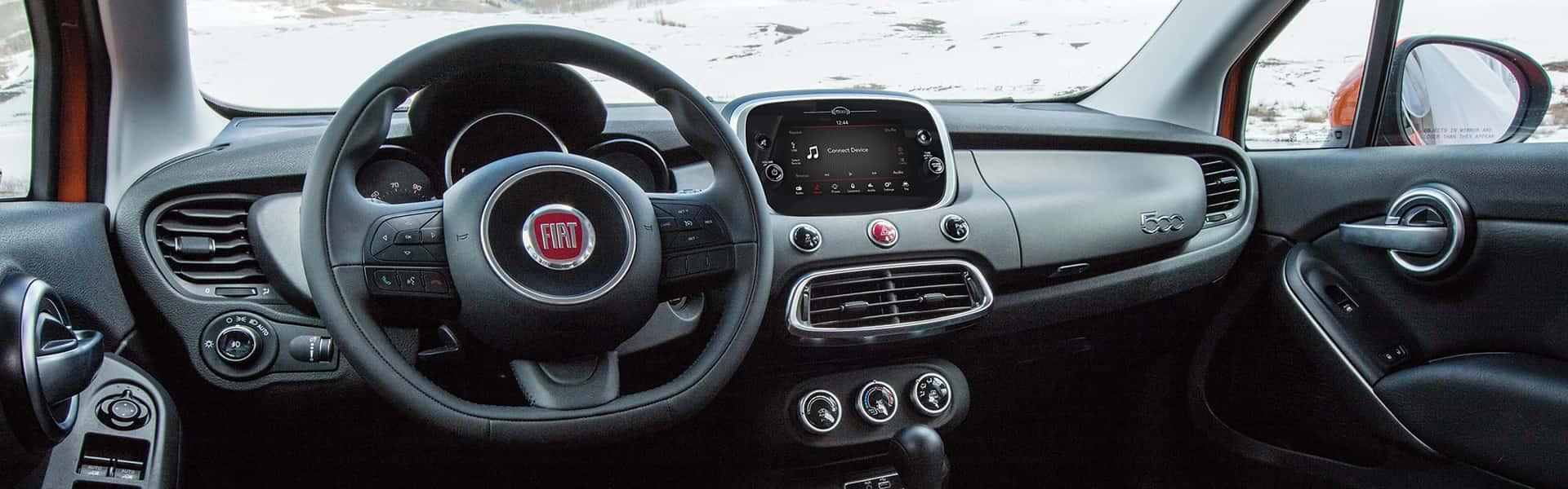 FIAT 500X - Intérieur