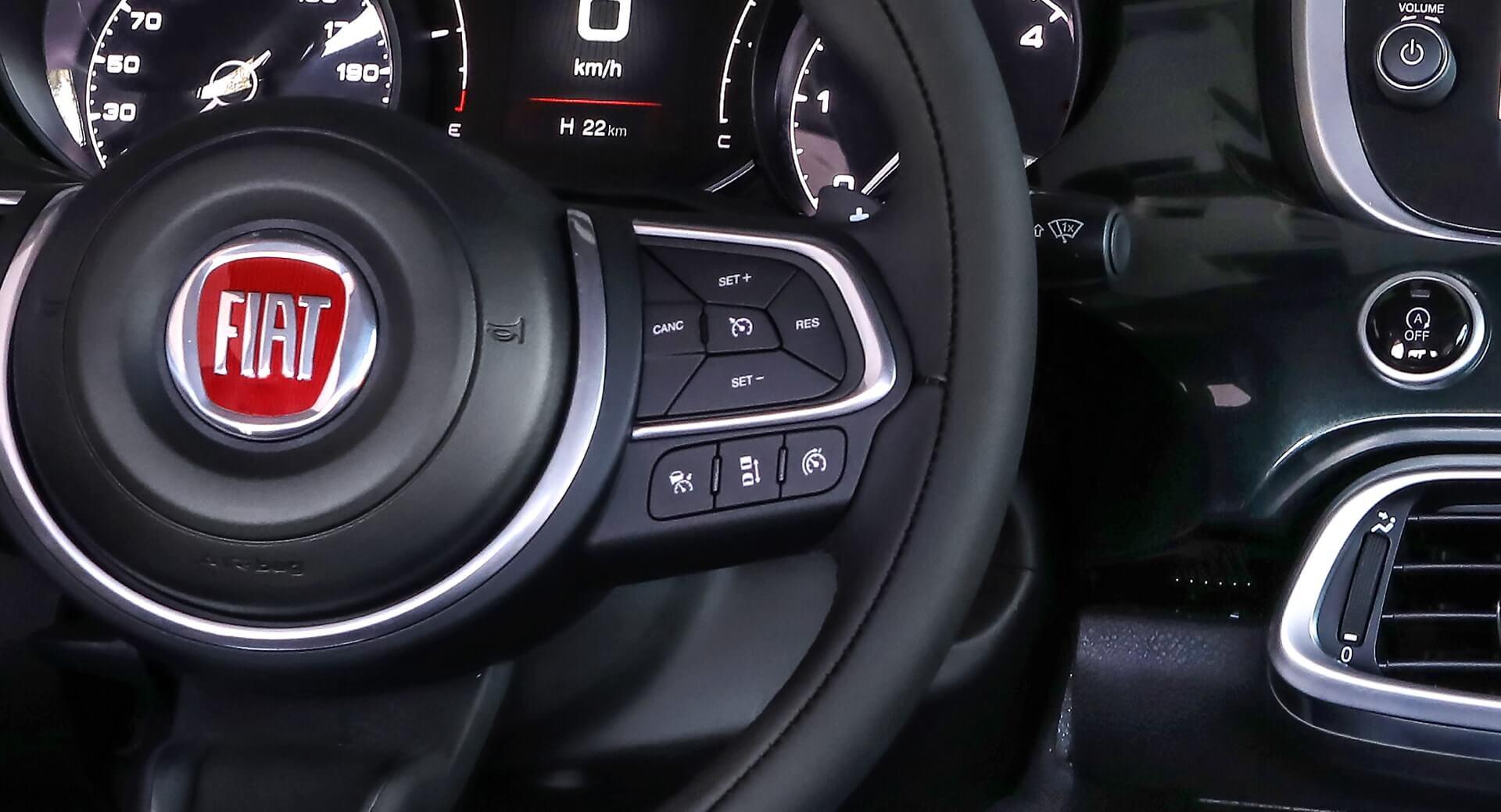 FIAT 500X - Sécurité
