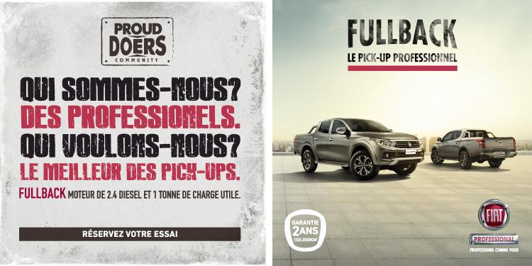 FIAT FULLBACK - Promotion