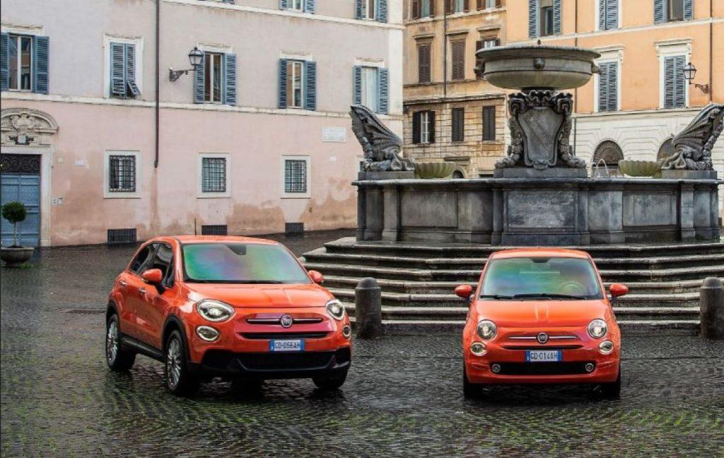 Fiat 500 et Fiat 500X